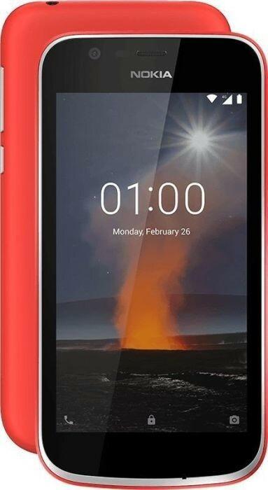 Nokia 1 8GB Dual Sim Czerwony