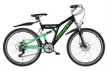 INDIANA Rower X-Rock 1.6 Czarno-zielony X-ROCK 1.6 CZ X-ROCK 1.6 CZ