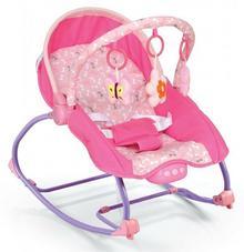 Baby Mix Leżaczek niemowlęcy Baby Mix BR 212-18 Pink
