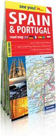 ExpressMap praca zbiorowa See you! in... Hiszpania i Portugalia (Spain & Portugal). Papierowa mapa samochodowa 1:1 000 000