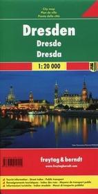 Freytag&berndt Drezno mapa 1:20 000 Freytag & Berndt - Freytag & Berndt