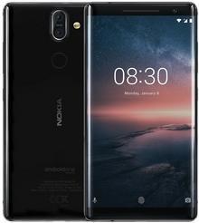Nokia 8 Sirocco 128GB LTE Czarna