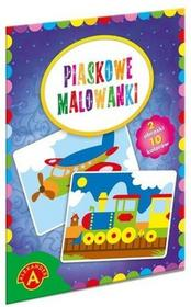 Alexander Piaskowe malowanki Pociąg samolot