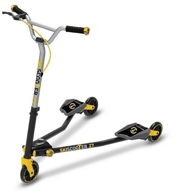 Smart Trike Hulajnoga SMART TRIKE Ski Scooter Z7 Żółty