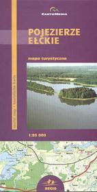 CartoMedia Pojezierze Ełckie mapa 1:85 000 CartoMedia