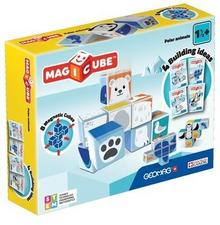 Geomag Magicube Polar Animals Magiczne kostki Zestaw Zwierzęta polarne - wysyłka w 24h !!!