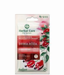 Farmona Herbal Care Maseczka odmładzająca do twarzy Dzika Róża 2 x 5 ml