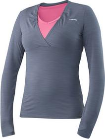 Head Transition W T4S LS Shirt - grey/pink 814476-DM