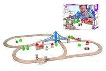 Eichhorn Kolejka tor z mostem 55 Elementów 100001264