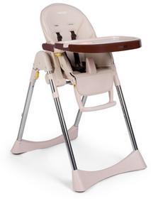 Krzesełko do karmienia ze stolikiem, leżaczek Lindo, Beżowe