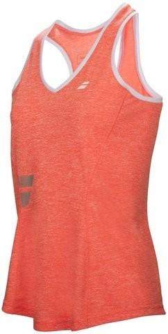 3189608fd7 Babolat Koszulka tenisowa Core Crop Top Women - fluo strike - Ceny i ...
