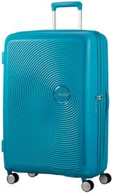 American Tourister walizka Soundbox 77 Summer Blue