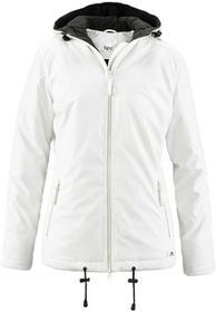 Bonprix Lekko ocieplana kurtka zimowa biel wełny