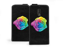 Nokia etuo Flip Fantastic - 6 - etui na telefon Flip Fantastic - kolorowa róża