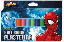 Plastelina 12 kolorów Spider Man