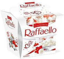 Ferrero Raffaello Kokosowy smakołyk z chrupiącego wafelka z całym migdałem w środku 150 g