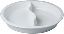 RAK Wkład porcelanowy do okrągłych podgrzewaczy, okrągły dzielony 390x62 mm | R-BUGN39D-1 R-BUGN39D-1
