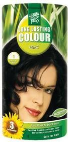 HennaPlus Long Lasting Colour czarny 49153