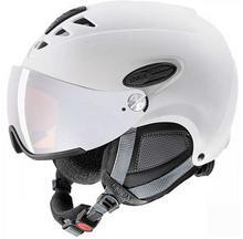 Uvex Kask narciarski z szybą HLMT 300 white mat HLMT 300 white mat
