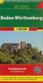 Freytag&Berndt Niemcy część 3 Badenia-Wirtembergia mapa 1:200 000 Freytag & Berndt