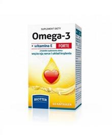DIAGNOSIS Omega-3 z witaminą e forte biotter x 60 kaps