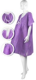 MATODRESS Koszula do porodu fioletowa r. S-M, 10 szt. | Darmowa dostawa