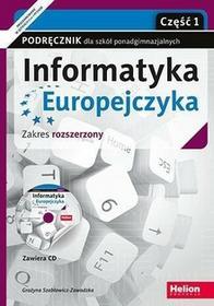 Szabłowicz-Zawadzka Grażyna Informatyka Europejczyka LO 1-3 cz.1 ZR+ CD w.2017 / wysyłka w 24h