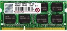Transcend Pamięć do notebooków JetRam8GB 1600MHz DDR3L SO-DIMM 1.35V