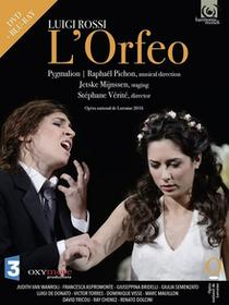 Opera National de Lorrein Luigi Rossi. L'Orfeo, DVD+Blu-ray Opera National de Lorrein