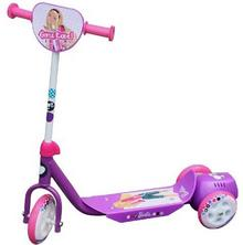 Barbie Bubble Scooter Fashion Dot, fioletowy, 990055