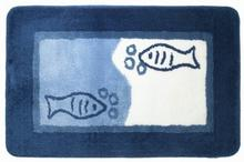 Dywanik łazienkowy 55 x 85 cm niebieski Sealskin Marina 292294424
