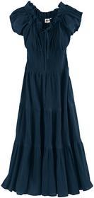 Bonprix Sukienka letnia ciemnoniebieski