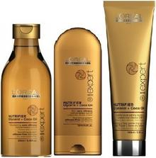 Loreal L'oreal NUTRIFIER szampon 250ml + odżywka 150ml + krem 150ml