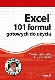 Helion Excel 101 formuł gotowych do użycia