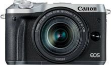 Canon Aparat Canon EOS M6 Srebrny + obiektyw EF-M 18-150mm f/3.5-6.3 IS STM (1725C022AA) Darmowy odbiór w 20 miastach! 1725C022AA
