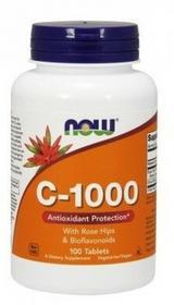 Now Foods RELAX Witamina-bioflawonoidami-1000mg-100-kaps