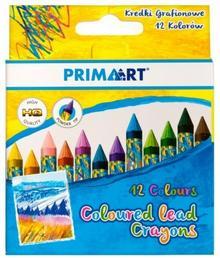 Prima Art Kredki Grafionowe 12 Kolorów