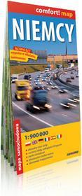 ExpressMap praca zbiorowa comfort! map Niemcy. laminowana mapa samochodowa 1:900000