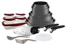 Tefal kuchenki l6589903zestaw garnków i patelniIngenio 5Performance Szary 20-częściowydo wszystkich kuchenek, również indukcyjnych L6589902