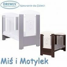 Drewex łóżeczko 120x60 Miś i Motylek 98F1-42788_20160601130853