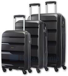 Samsonite AT by Komplet walizek AT BON AIR 59425 Czarne - czarny