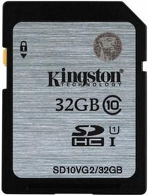 Kingston SDXC Class 10 UHS-I 32GB