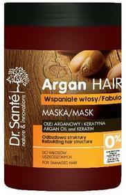 Sante Dr Argan Hair Maska odbudowująca do włosów uszkodzonych 1000ml ELFA PHARM