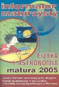 Fizyka i astronomia matura 2005 / wysyłka w 24h