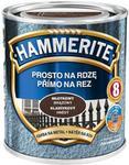 Hammerite Farba do metalu Prosto Na Rdzę młotkowy brązowy 0 25 l