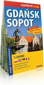 ExpressMap Gdańsk, Sopot - kieszonkowy laminowany plan maista w skali 1: 26 000 - Expressmap