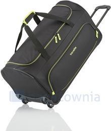Travelite Torba podróżna na kołach BASIC 96277-01 Czarna - czarny