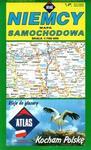 Atlasy i mapy  Niemcy, Mapa samochodowa - Piętka