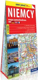 Niemcy. Mapa samochodowa 1:750 000