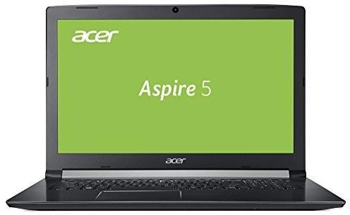 Acer Aspire 5(A51751575X) 43,9cm (17,3cala HD +) Multi Media notebook (Intel Core i58250u, 8GB RAM, 1TB HDD, Intel HD, HDMI, USB Type-C, Win 10) czarna NX.GSWEV.001